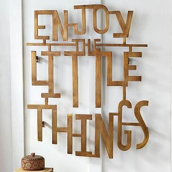 Enjoy The Little Things Wall Art