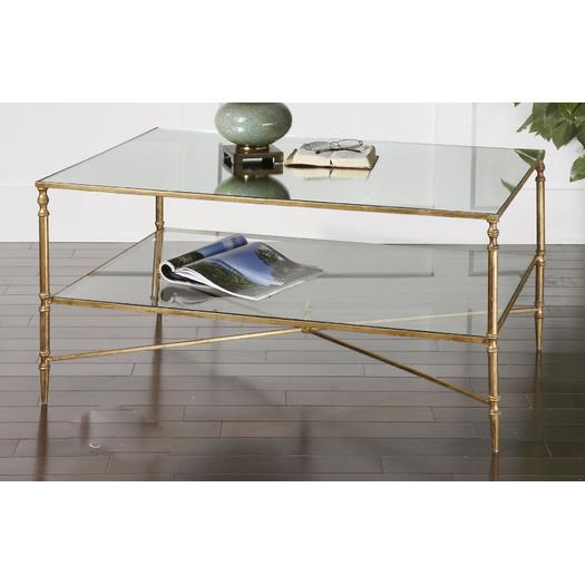 Henzler X Base Gold Coffee Table