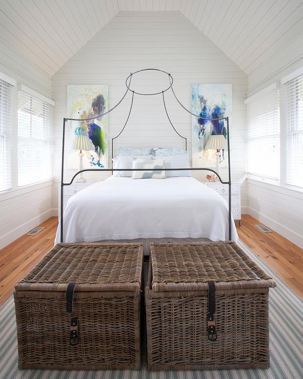 Shiplap Bedroom Ceiling Design Ideas