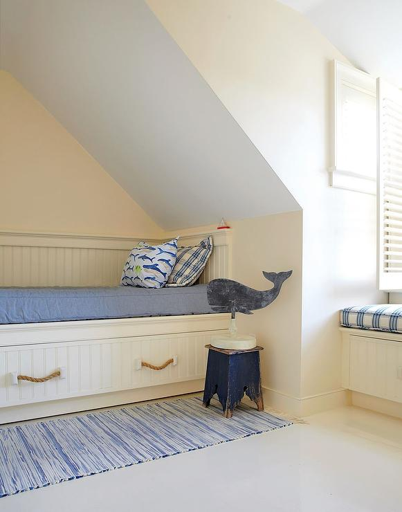 Built In Kids Bed Under Dormer Cottage Boy 39 S Room