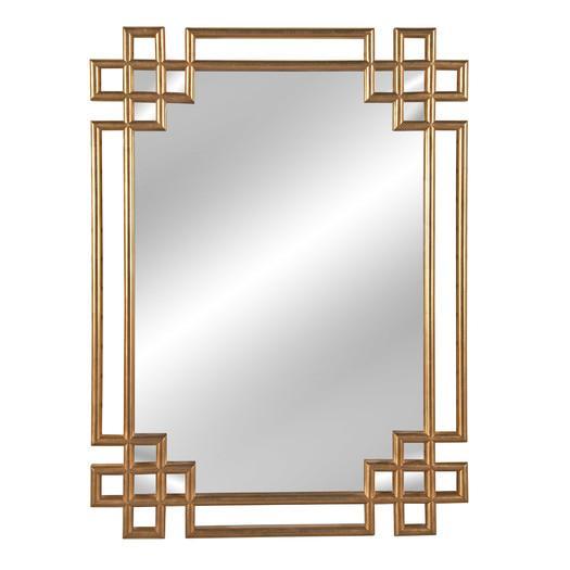 Bassett Gold Mirror Frederick Wall Mirror