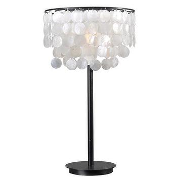 shell brown arc lamp