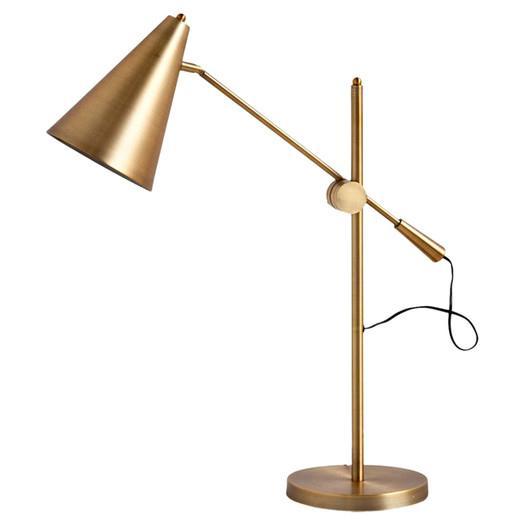 Mercana Aaron Gold Table Lamp