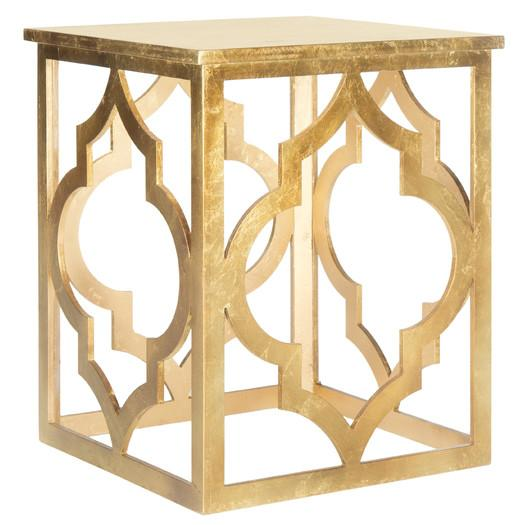 Safavieh Milo Gold End Table