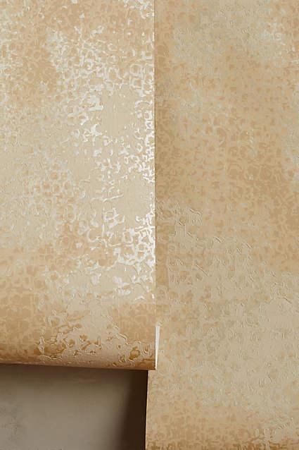 Textured Bronze Foil Metallic Wallpaper