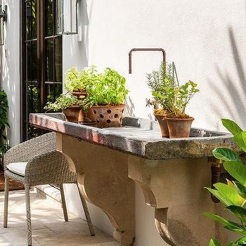 Concrete Garden Sink Design Ideas