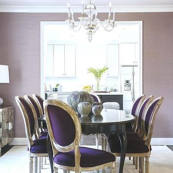 Purple Velvet Dining Room Chairs Off 72, Purple Dining Room Chairs