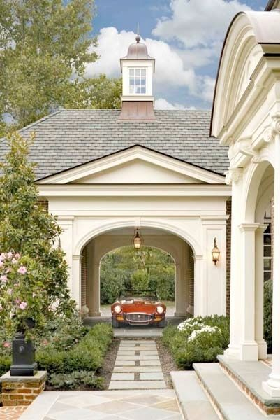 porte cochere design ideas