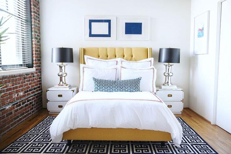 Yellow and black bedrooms contemporary bedroom - Black and yellow bedroom decor ...