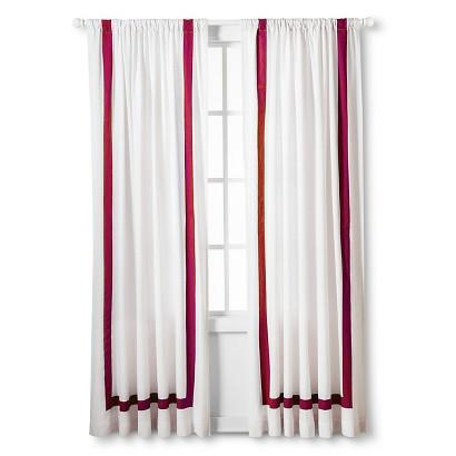 Room Darkening Curtains Target White Light Block Curtains