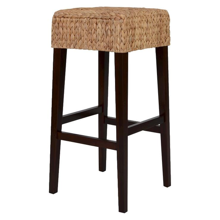 Bar Stools And High Table, Seagrass Bar Stools Look 4 Less And Steals And Deals