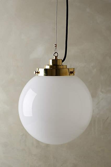 Oxford Smoke Bell Pendant Light  Ballard Designs