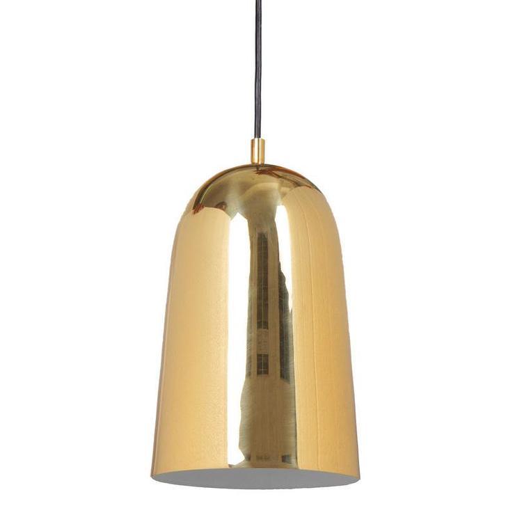 Aurora Brass Ceiling Light