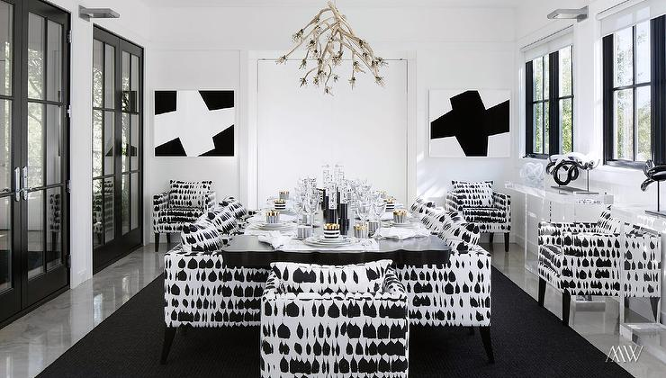 black and gold dining tables design ideas