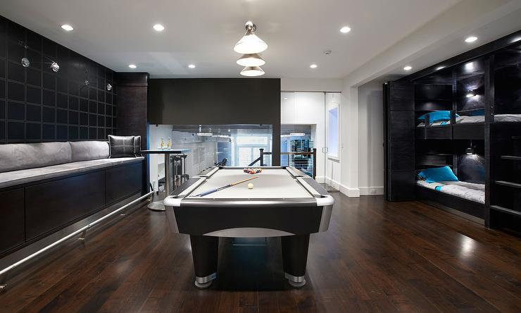 Contemporary Game Room Design Ideas