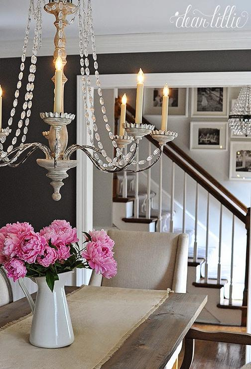 Dining Room Dark Romantic: French Country Dining Room Design