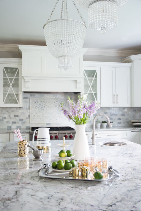 Merveilleux Gray And White Granite Countertops