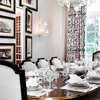 Dining Room With Secret Wine