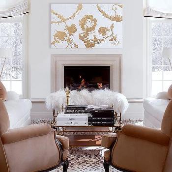 Camel Living Room Paint Design Ideas