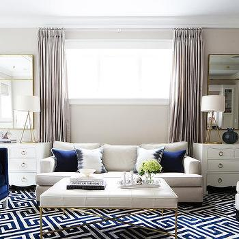 Navy And Ivory Rug Home Decor