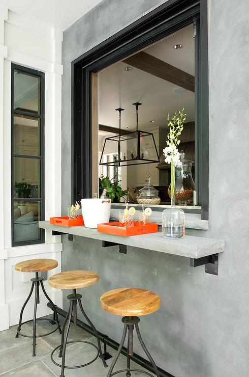 Breakfast Bar Pass Through Design Ideas