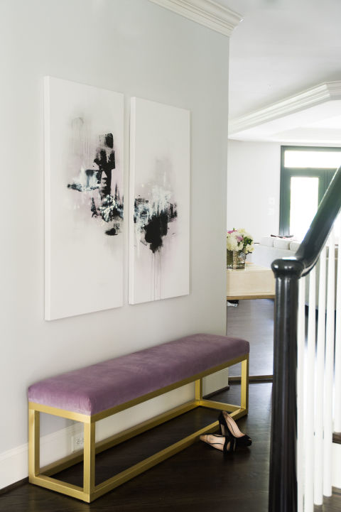 Foyer Bench Black : Foyer bench design ideas