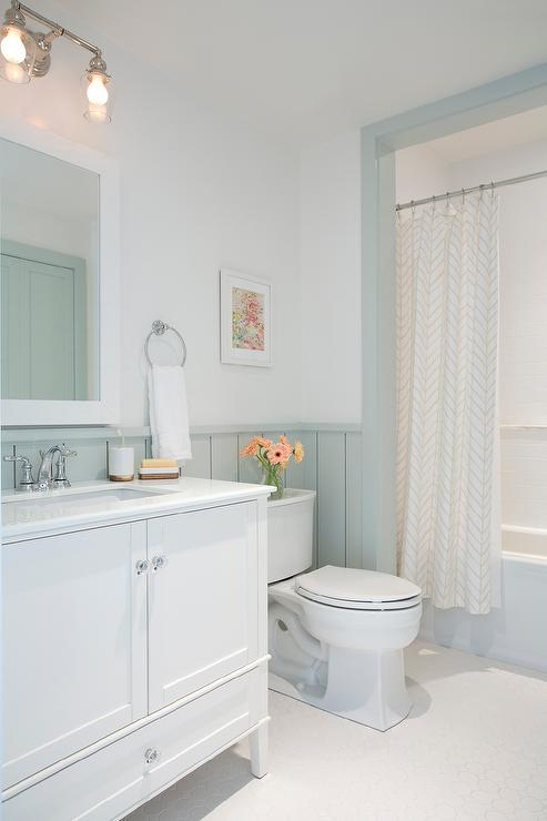 Gray Shiplap Walls Cottage Bathroom Sherwin Williams