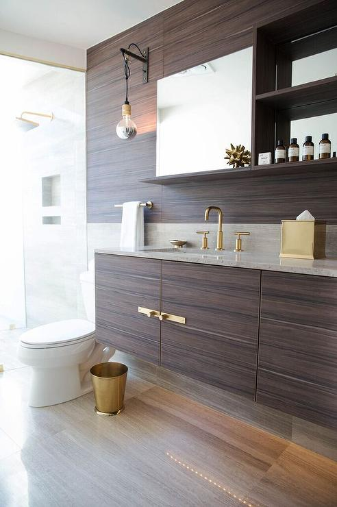 Bathroom Vanity Veneer veneer floating bathroom vanity design ideas