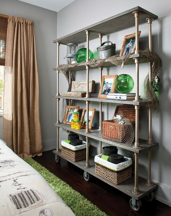 Industrial Kids Bookcase