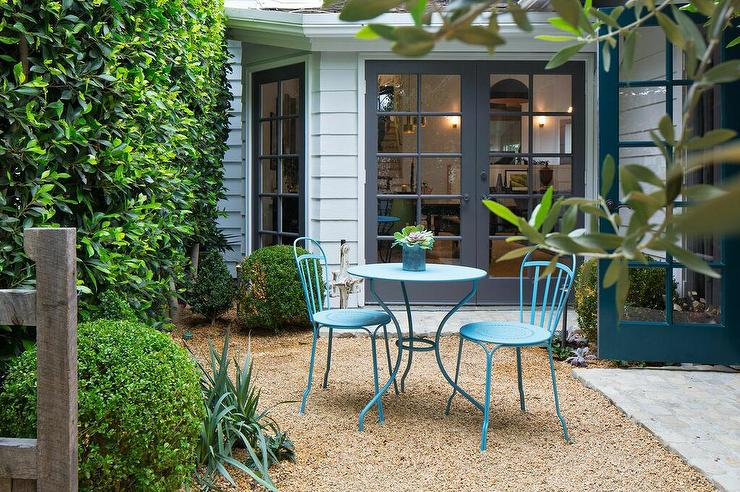 Small Patio Table And Chairs Part - 44: Turquoise Patio Table And Chairs