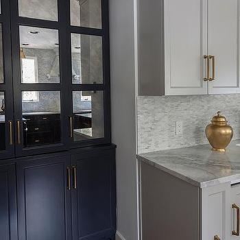 Grey Kitchen Cabinets Gold Hardware dark grey cabinets gold pulls design ideas
