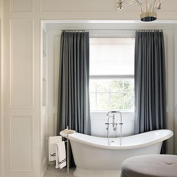 master bedroom bathtub - transitional - bathroom