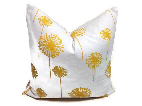 Romo paeonia pillow cover by woodyliana i etsy - Whiten yellowed pillows ...