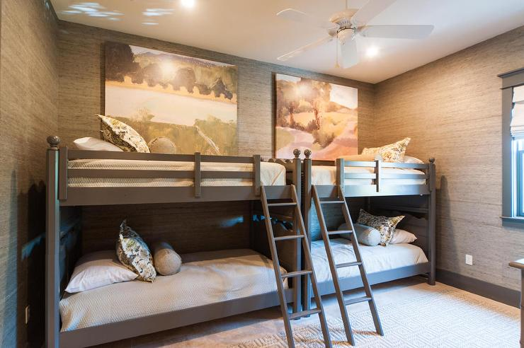 Kids Built In Loft Bed Cottage Boy S Room