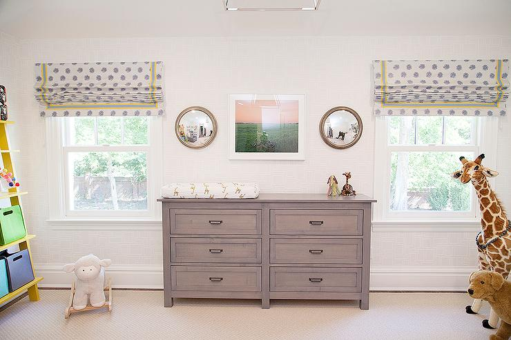 Superieur Grey Nursery Dresser