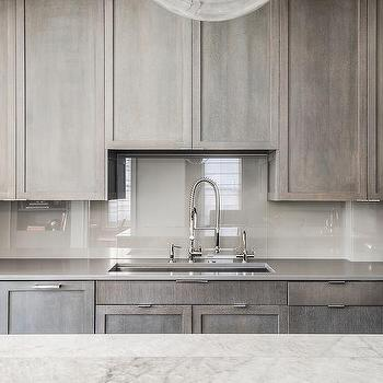 M Grey Wash Kitchen Cabinets