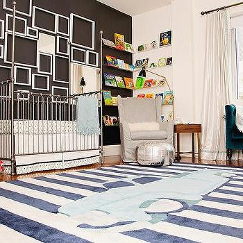 Empty Picture Frames - Contemporary - nursery - Sherwin Williams ...