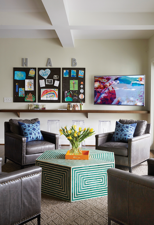 TV Room And Craft Room