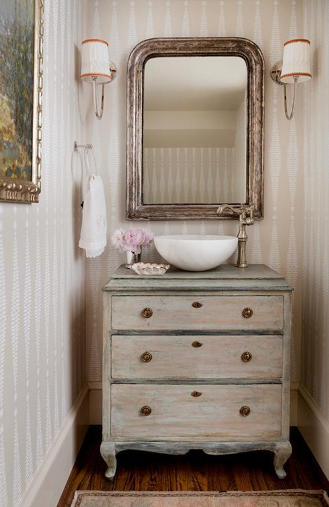 repurposed bathroom vanity design ideas