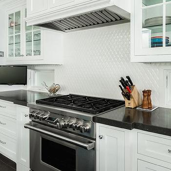 Diamond Pattern Floor Cottage Kitchen Country Living