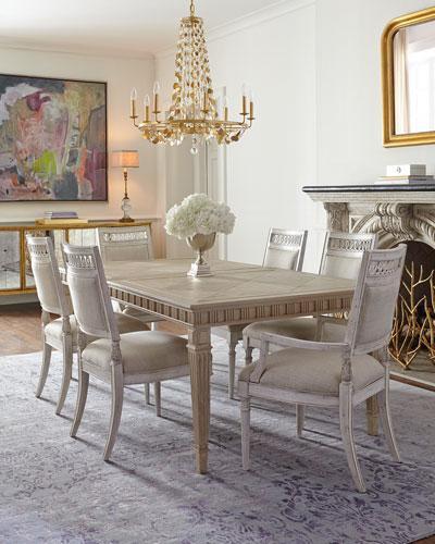 Superb Estes Park Ivory Dining Furniture