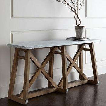 Superieur Tin Top Table. «