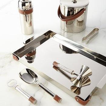 Great Ralph Lauren Silver Preston Barware