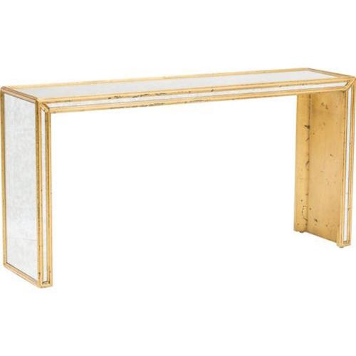 Mirrored console look 4 less and steals and deals - Mirrored console table overstock ...