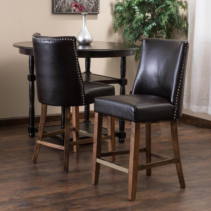 Pleasing Christopher Knight Home Harman Brown Counter Stool Uwap Interior Chair Design Uwaporg
