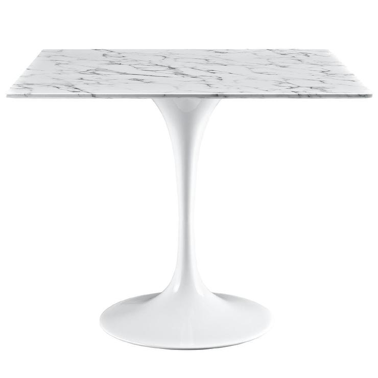 Metal square marble table products bookmarks design inspiration lippa 36 inch marble dining table watchthetrailerfo