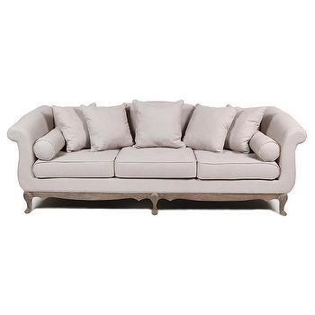 Ellie 3 Seater Tan Sofa