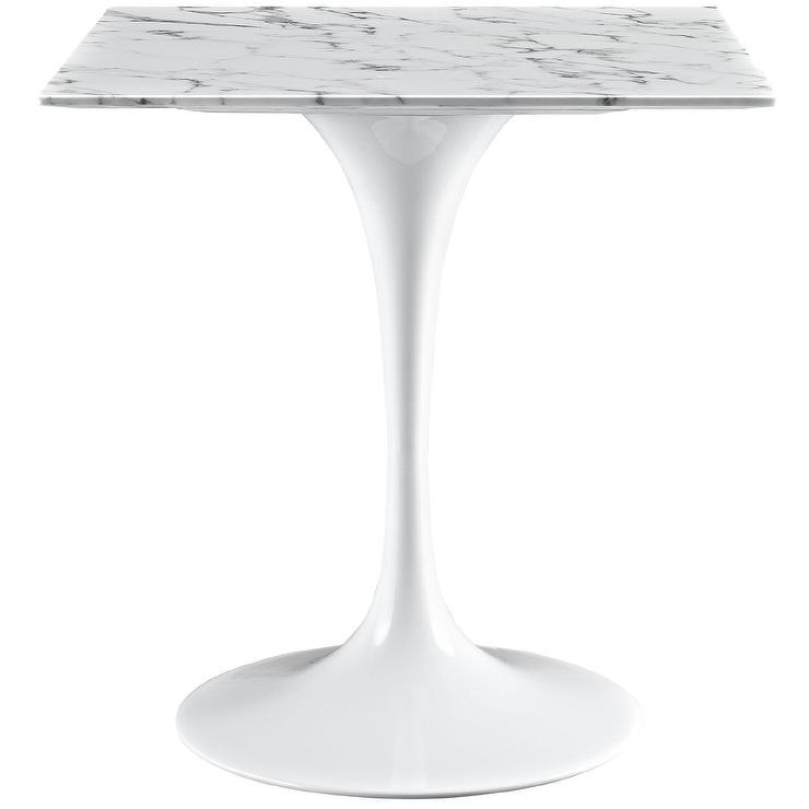 lippa 24-inch marble dining table 24 Inch Dining Table