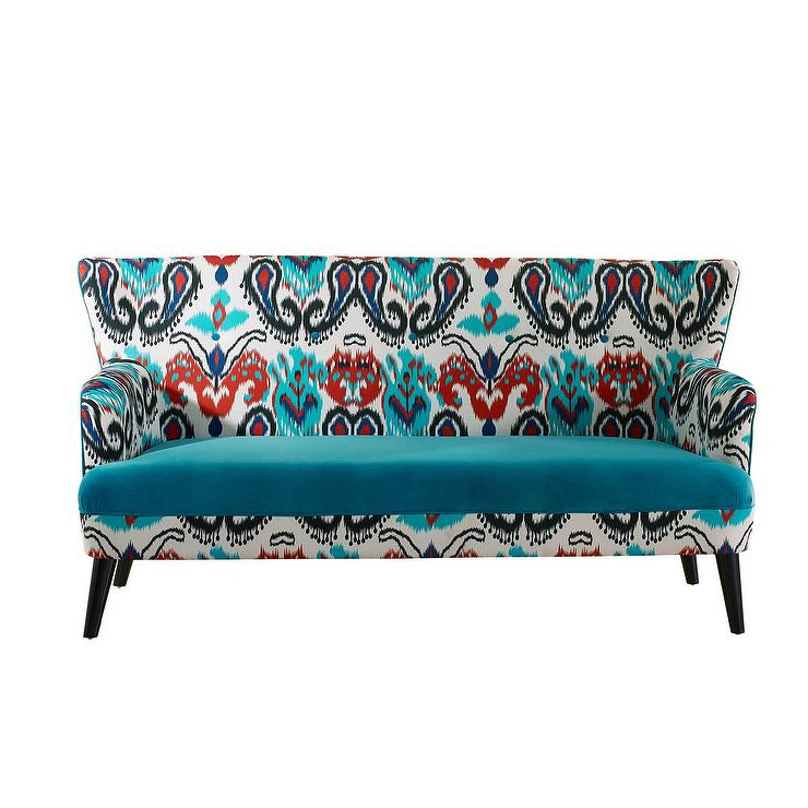 Kelly Tufted Curve Sofa Vielle And Frances