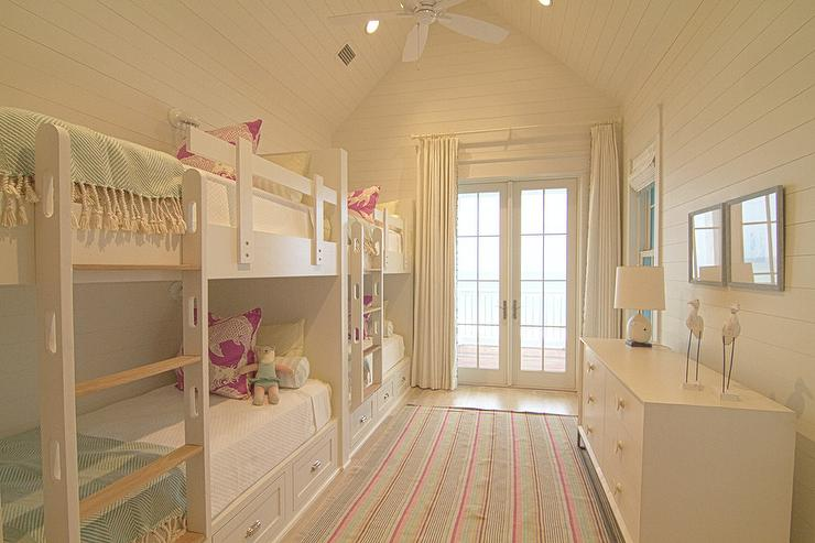 Floating Bunk Beds Contemporary Girl S Room Sarah